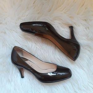 Cole Haan Nike Air brown 3 inch heels, 7.5